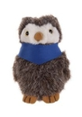 Custom Plush Owl With Bandana 12