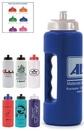 Custom 32 Oz. Grip Bottle w/ Handle & Push 'N Pull Cap - Spot Printed