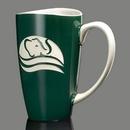 Custom Paddington Mug - 17oz Dark Green