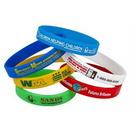 Custom Silicone Bracelet Band, 7 15/16