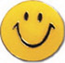 Custom Smiley Face Lapel Pin with Color