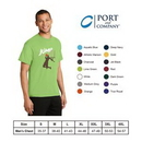 Custom Port & Company Performance 4.5oz Men's Blend Tee