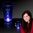 Custom Blue 16 Oz. Light-Up Pint Glass