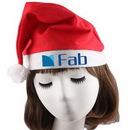 Custom Non-woven Christmas Hat Santa Hat For Adult, 19 1/2
