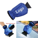 Custom Durable Car Windshield Ice Scraper Hand Mitten, 12 3/4