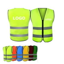 Custom High Visibility Adult Safety Vest, 27 1/8