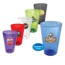 Custom 16 oz. Plastic Pint Glass, Full Color Digital
