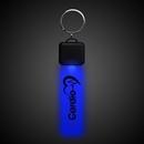 Custom Blue LED Key Chain, 4.25