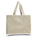 Custom Canvas Gusset Tote, 15