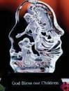 Custom Glass Glacier Angel Award (6