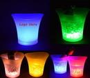 Custom LED Ice Bucket, 10 1/4