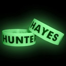 Custom Glow in the Dark Debossed Wristband (72 Hour Rush Service), 8