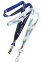 Custom 3 Days USA made Full Color Sublimated Lanyard, 3/4