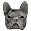 Custom French Bulldog Pin, 1