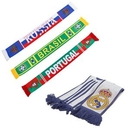 Rugby/Soccer Custom Scarf With Fringe, 55