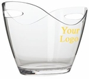 Custom Small Oval Wine Bucket, 7 7/8