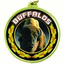 Custom TM Medal Academic Series w/ Buffalo's Scholastic Mascot Mylar Insert