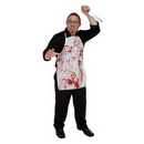 Custom Halloween Horror Fabric Apron