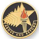 Blank Scholastic Award Pin (Above & Beyond), 1