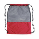 Custom Poly-mesh Drawstring Backpack, 13