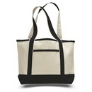 Custom Small Canvas Deluxe Tote, 18.5