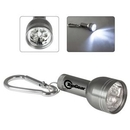 Custom 6-LED Flashlight W/ Metal Carabiner, 4 1/4
