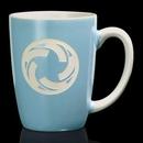 Custom Camelot Mug - 13oz Powder Blue