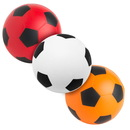 Custom Soccer Ball Squeezies Stress Reliever