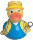 Custom Rubber Technician Duck, 3 1/8