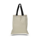 Custom Economical tote with Color Handles, 15