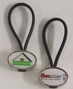 Custom Strappy Key Holder - Oval