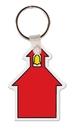 Custom School House Key Tag