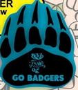 Custom Badger Paw Foam Hand Mitt