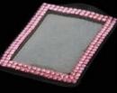 Custom Bling Rhinestone Badge Holders, 2.5