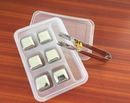 Custom Whisky Stainless Steel Ice Cube 6 Pieces/Set, 1