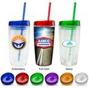 Custom Full Color Insulated Tumbler (Full Color Epoxy), 3.5