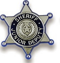 Custom Sheriff Junior Deputy Badge Stock Design Plastic Lapel Pin