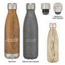 Custom 16 Oz. Woodtone Swiggy Bottle, 10
