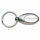 Custom 2 Tone Oval Metal Keyring