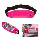 Custom Exercise Runners Waist Belt With Rose Expandable Storage Pouch, 27