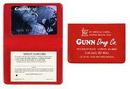 Custom Card Case w/ 2 Clear Pocket