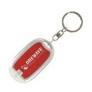 Custom Pocket Flashlight Keyring, 2.4