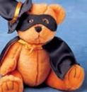 Custom Halloween Outfit for Stuffed Animal