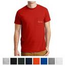 Custom Gildan DryBlend 50 Cotton/50 Poly Pocket T-Shirt