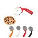 Custom Stainless Steel Pizza Wheel Cutter, 6 3/4