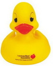 Custom Heart Shape Eyes Rubber Duck