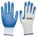 Custom Protective Safety Gloves With Colorful Rubber Cover, 9
