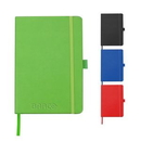 Custom Colored PU Notebook with Pen Loop, 5.70