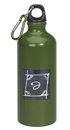 Custom 22 oz. Aluminum Sports Water Bottle w/ Carabiner, Screen Printed - Colors
