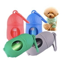 Custom Pengiun Shaped Dog Poop Bag Dispenser, 3 3/4